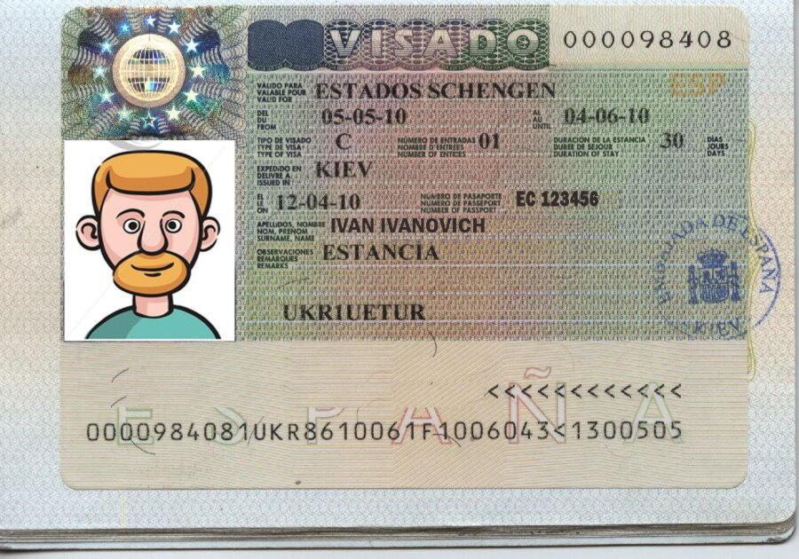 Как сделать визу для испании 77