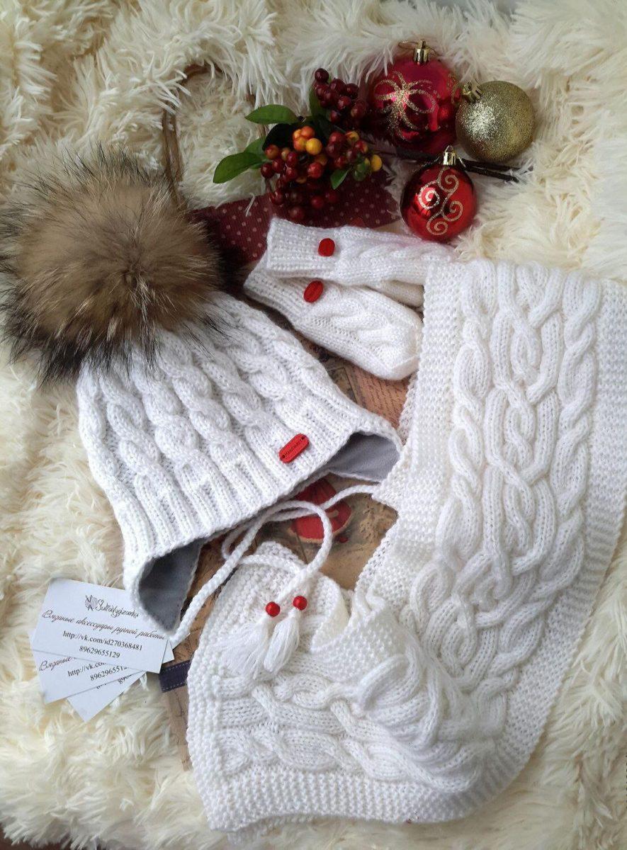 Модное вязание спицами : фото, тенденции 15