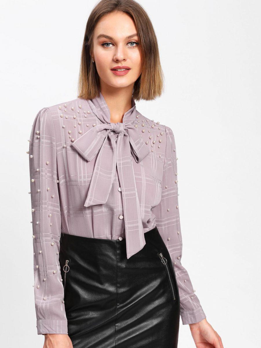 Полупрозрачные Блузки