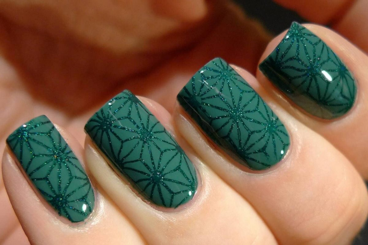 зеленый лак