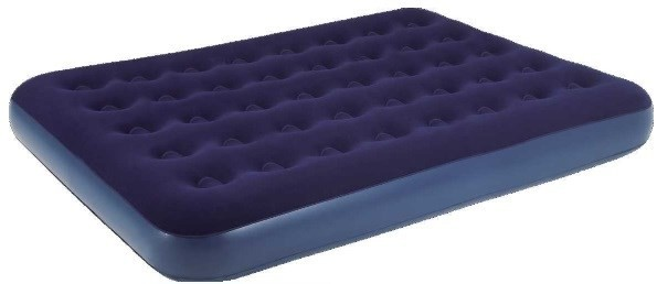 Relax Flocked Air Bed Twin