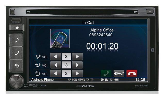 Alpine IVE-W535BT