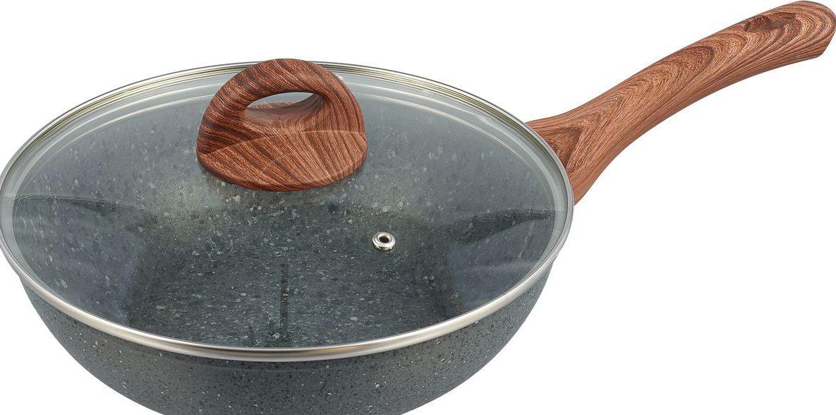 """Сковорода-вок - Чудесница """"Granit"""""""