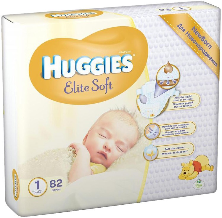 Huggies Elite Soft 1