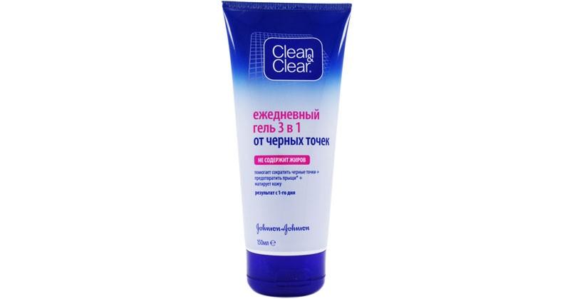 Гель-маска-против-черных-точек-«Clean&Clear»