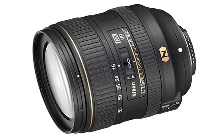 Nikkor 16-80mm f/2.8 - 4G