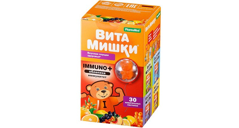 ВитаМишки-IMMUNO+