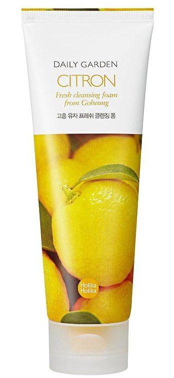 Holika Holika Daily Garden Cleansing Foam Citron Fresh