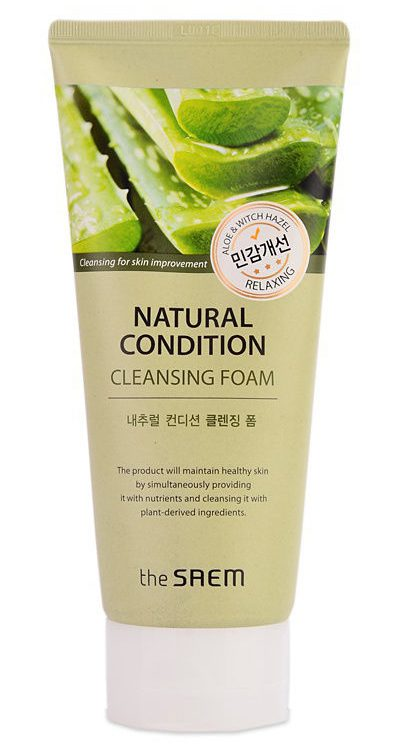 The Saem Natural Condition Cleansing Foam Soothing