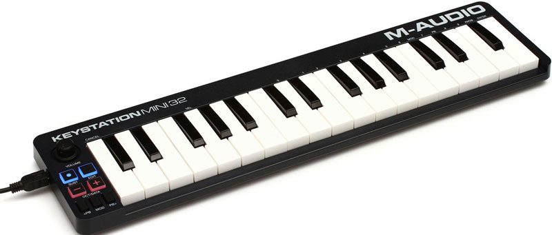 M-AUDIO-KEYSTATION-MINI-32