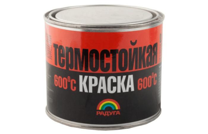 краска для мангалов термостойкая