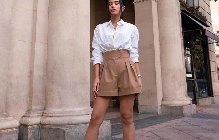 модные шорты 2021 года