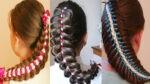 плетение волос необычными способами красиво