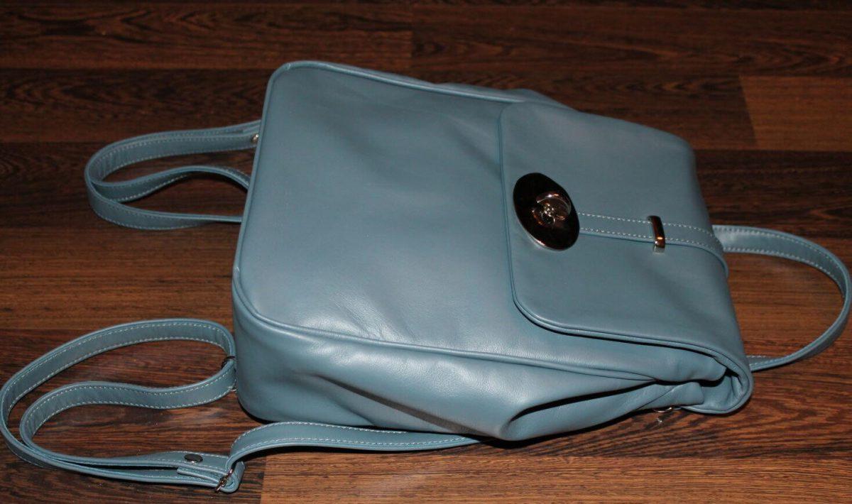13fc9b21ea02 Женская сумка рюкзак-трансформер своими руками
