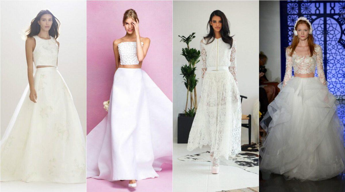 030d75d3158 Свадебные платья 2018 – 2019  модные тенденции